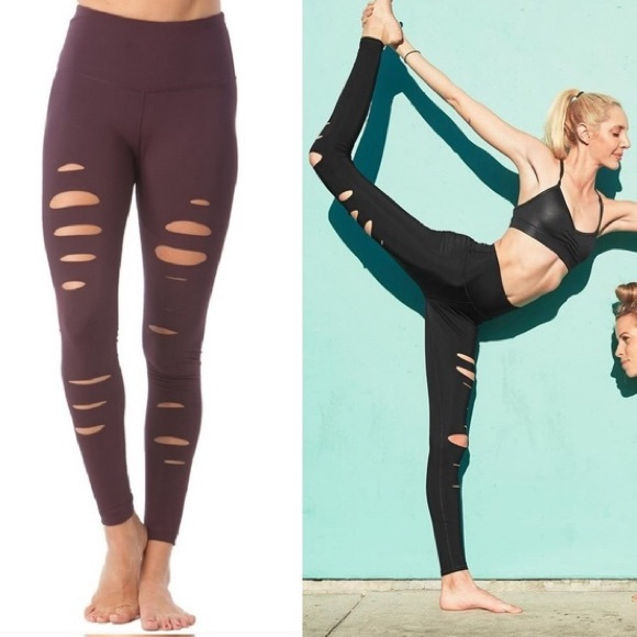 b171708e31 90 Degree By Reflex Pants - 90 Degree by Reflex Reckless Laser Cut Leggings